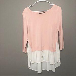 NY & Co 3/4 sleeve sweater
